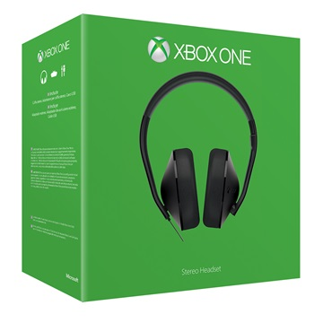 MS Játékvezérlő Xbox One Stereo Headset - Refresh