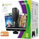 MS Konzol Xbox 360 New 4 GB System Kinect Bundle + Dance Central 3 + Kinect Adventures