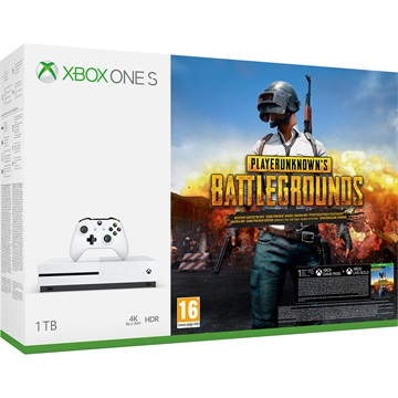 MS Konzol Xbox One S 1TB + Playerunknown`s Battleground