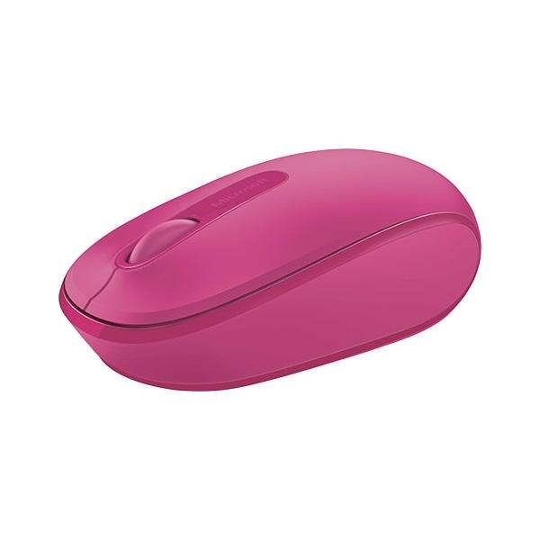 MS Vezeték Nélküli egér Notebook Mobile 1850 Optikai Magenta