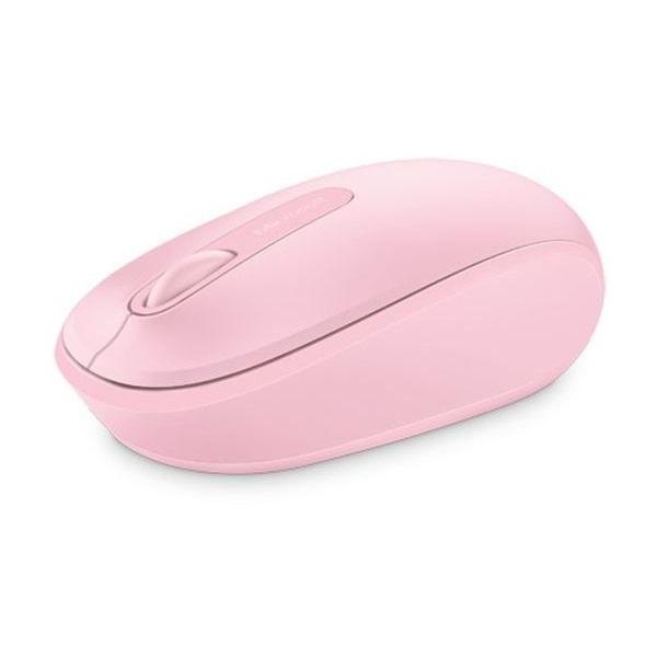 MS Vezeték Nélküli egér Notebook Mobile 1850 Optikai Rózsaszín