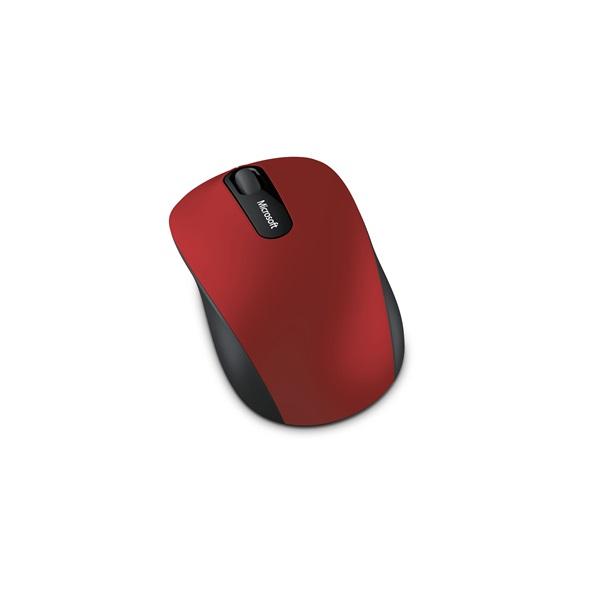 MS Vezeték Nélküli egér Notebook Mobile 3600 Optikai Sötétpiros, BlueTrack, Bluetooth