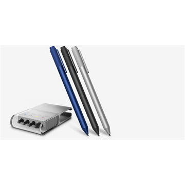 Microsoft Surface Pen v3 - Stylus+Tip Kit - Wireless - Bluetooth - Ezüst-Silver - for Surface Pro 3, Pro 4, Surface Book