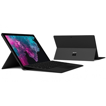 "Microsoft Surface Pro 6 - 12.3"" (2736 x 1824) - Core i7 (8650U, HD 620) - 16GB RAM - 512GB SSD - Windows 10 Home, Black"