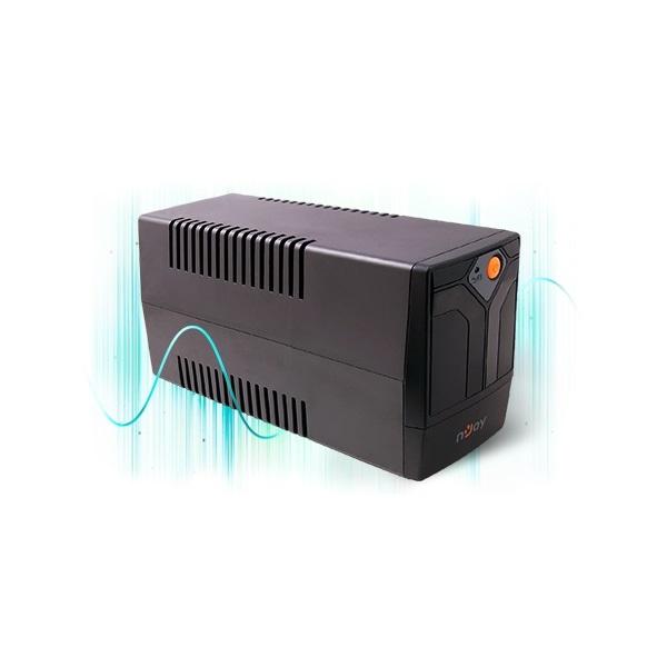 NJOY UPS + AVR Septu 1000, 1000VA, 600W, Line-Interactice, Szünetmentes tápegység