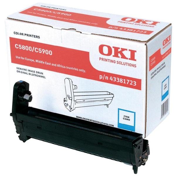 OKI Drum C58/59/5550MFP kék