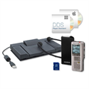 OLYMPUS DS-2500 PRO Diktafon + Transcription Kit (DS-2500, RS28H, E102, DSS-Player Standard)