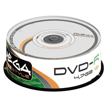 OMEGA-FREESTYLE DVD lemez -R 4.7GB 25db/Henger 16x