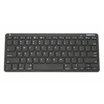 OMEGA KEYBOARD US OMEGA BLUETOOTH FOR TABLETS BLACK OKB003