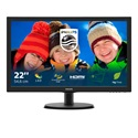 "PHILIPS TFT-LCD monitor 21.5"" 223V5LHSB, 1920x1080, 16:9, 250cd/m2, 5ms, 60Hz, HDMI/VGA"