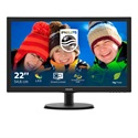 "PHILIPS TFT-LCD monitor 21.5"" 223V5LSB, 1920x1080, 16:9, 250cd/m2, 5ms, 60Hz, VGA/DVI-D"