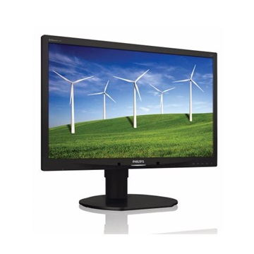 "Philips LED Monitor 22"", 220B4LPCB/00 1680x1050, 16:10, 1000:1, 250 cd/m˛, 5ms, VGA/DVI-D/2xUSB, fekete"