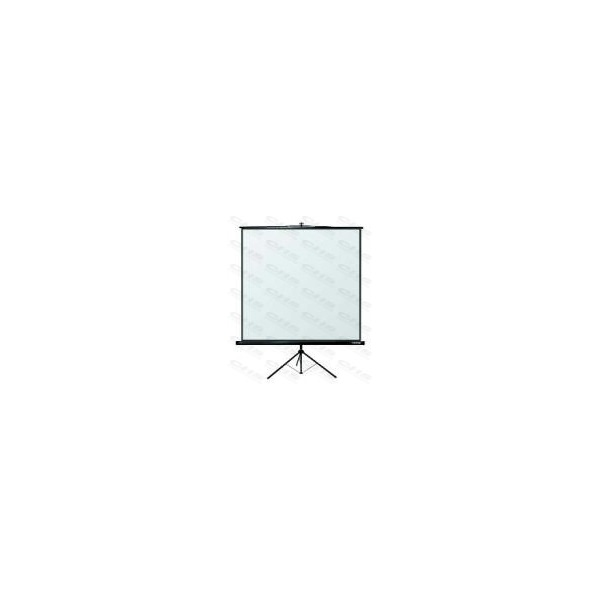 REFLECTA Hordozható Vászon CRYSTAL-LINE TRIPOD 125X125CM MATT fehér125×125cm