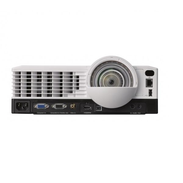 RICOH Projektor PJ X4241N, XGA 3300 ANSI Lumen, 5000:1, HDMI, USB/LAN/Wifi, közeli, fehér