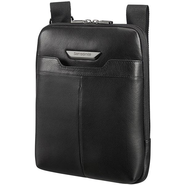 SAMSONITE BŐR Tablet táska 85149-1041, FLAT CROSSOVER L 9.7