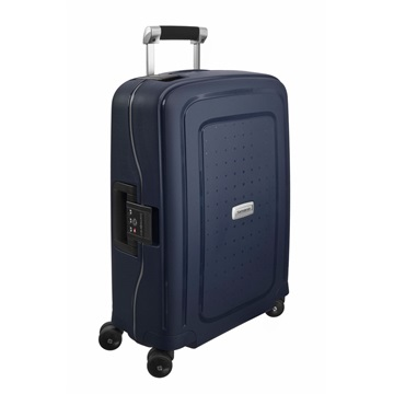 SAMSONITE Bőrönd, SPINNER 55/20 - S´CURE DLX, MIDNIGHT BLUE (50919)