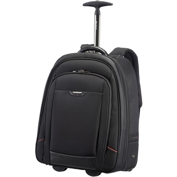 "SAMSONITE Gurulós Notebook táska, LAPTOP BACKPACK/WH.17.3"" - PRO-DLX 4, BLACK (58996)"