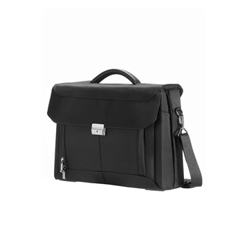 "SAMSONITE Notebook táska, BRIEFCASE 2 GUSSETS 15.6"" - ERGO-BIZ, BLACK (53204)"