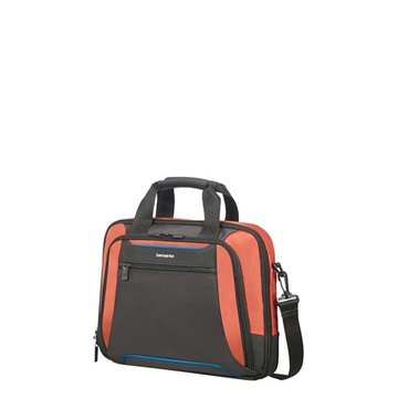"SAMSONITE Notebook táska 108925-7185, LAPT. BAILHANDLE 14.1"" (ORANGE/ANTHRACITE) -KLEUR"