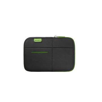 "SAMSONITE Tablet tok, TABLET CASE 7"" - AIRGLOW SLEEVES, BLACK/GREEN (46739)"