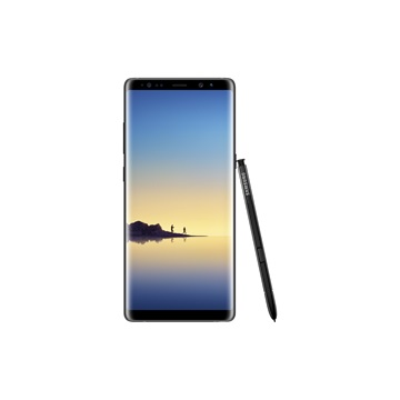 SAMSUNG Galaxy Note8, LTE, 64GB, DS, Fekete