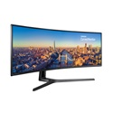 "Samsung ívelt VA LED Monitor 49"" LC49J890DKUXEN, 144Hz, 3840x1080, 32:9, 3000:1, 300cd/m2, 5ms, HDMI, DisplayPort"