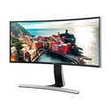 "SAMSUNG ívelt LED Monitor 34"" SE790C, 21:9, 3440x1440, 300 cd/m2, 4ms, 3000:1, 2 HDMI, Display Port, USB, fekete"