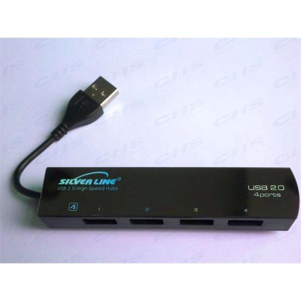 SILVERLINE USB Hub SL-004H, 4portos