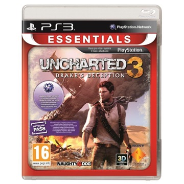SONY PS3 Játék Uncharted 3 Drakes Deception Essentials