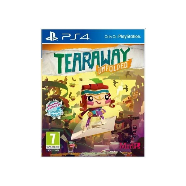 SONY PS4 Játék Tearaway Unfolded