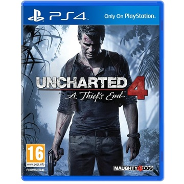 SONY PS4 Játék Uncharted 4 A Thiefs End