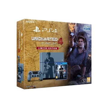SONY PS4 Konzol 1TB + Uncharted 4 A Thiefs End Limited Edition