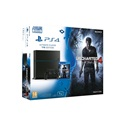 SONY PS4 Konzol 1TB + Uncharted 4 A Thiefs End, fekete