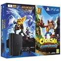 SONY PS4 Konzol 500GB Slim + Crash Bandicoot + Ratchet & Clank