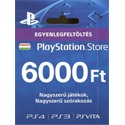 SONY PSN PlayStation Live Card (PS4) 6000 Ft, új cikkszám