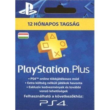 SONY PSN PlayStation Plus 365 napos feltöltõkártya (PS4)