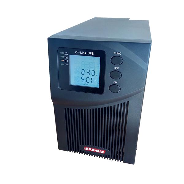 SPS MID 1000VA ONLINE UPS LCD kijelzővel