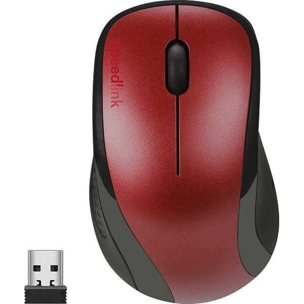 Speedlink SL-630011-RD KAPPA vezeték nélküli egér, piros