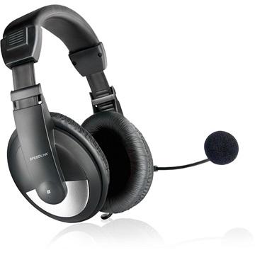 Speedlink SL-8743-BK THEBE mikrofonos fejhallgató e4c361ac4e