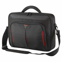 "TARGUS Notebook táska CN414EU, Classic+ 14"" Clamshell Case - Black/Red"