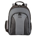 "TARGUS Notebook hátizsák TSB023EU, Essential 15.4-16"" Laptop Backpack - Black/Grey"