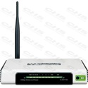 TP-LINK Wireless N Router 150Mbps TL-WR741ND 1x WAN (100Mbps) + 4x LAN (100Mbps)