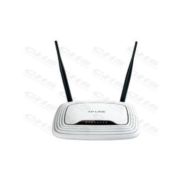 TP-LINK Wireless N Router 300Mbps TL-WR841N 1x WAN (100Mbps) + 4x LAN (100Mbps) 2x2MIMO FIX Antennával