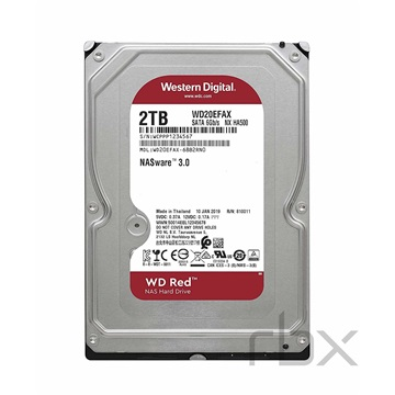 "WESTERN DIGITAL 3.5"" HDD SATA-III 2TB 5400rpm 256MB Cache, CAVIAR Red"