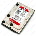"WESTERN DIGITAL 3.5"" HDD SATA-III 3TB 5400rpm 64MB Cache, CAVIAR Red"
