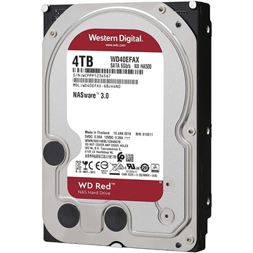 "WESTERN DIGITAL 3.5"" HDD SATA-III 4TB 5400rpm 256MB Cache, CAVIAR Red"