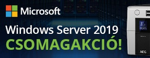 Windows Server 2019 csomagakció!