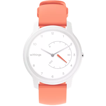 Withings okosóra,  Move - White / Coral