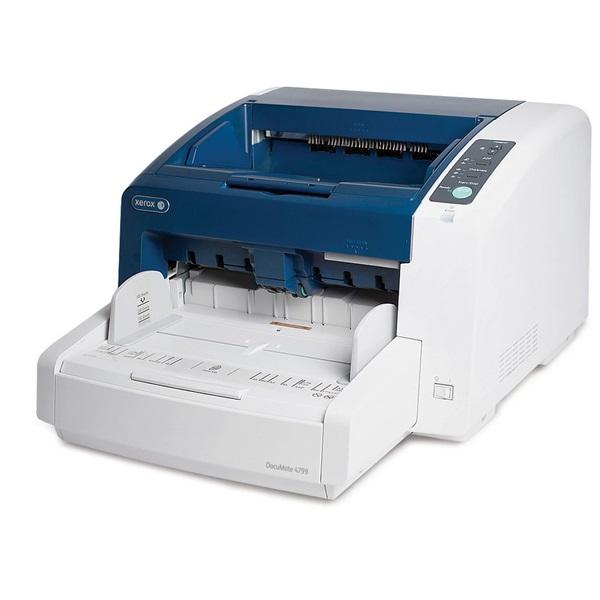 XEROX Docuscanner Documate 4799, 100 lap/perc, 600 dpi, 24 bit színmélység, USB 2.0, ADF 350 lapos adagoló