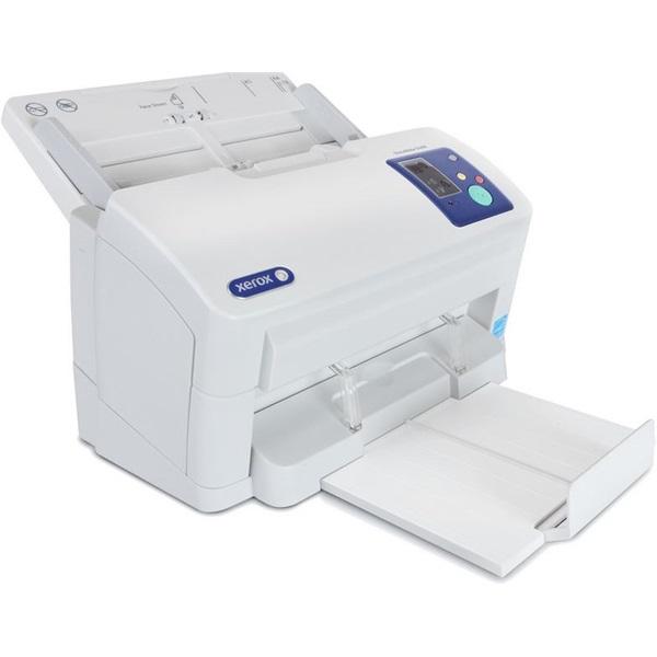 XEROX Docuscanner Documate 5445i, 75 ADF, duplex, 45 lap/perc (ff), 600 dpi, 24 bit színmélység, USB 2.0, fedélzeti képm